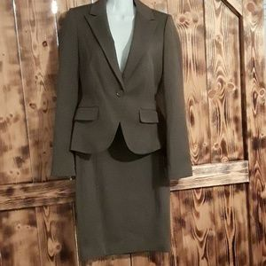 NWT Express taupe womans suit